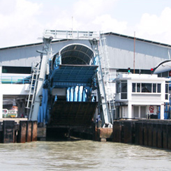PENANG FERRY DRAWBRIDGE (2003)